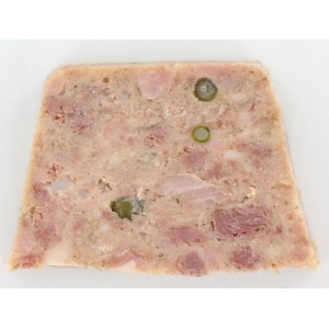 Terrine of Duck with Green Pepper